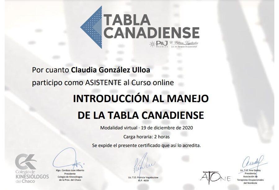 Claudia Gonzalez Ulloa