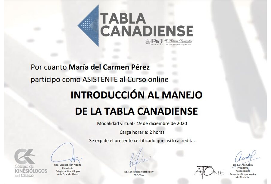 Maria de Carmen Pérez
