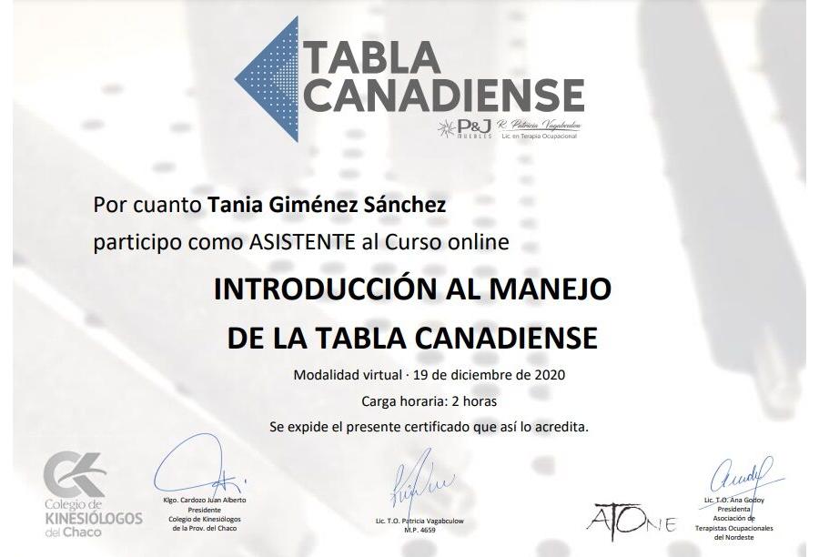 Tania Giménez Sánchez